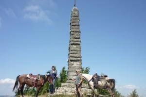 """monumento """"monte la fine"""""""